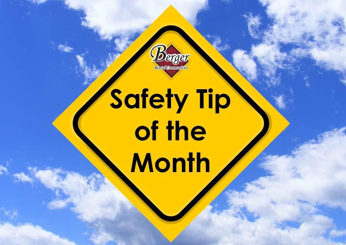 Resident Safety Tip – April