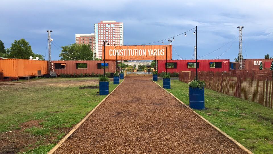 No Plans for Memorial Day Weekend, Chestnut Run Village? Head to Constitution Yards Beer Garden!