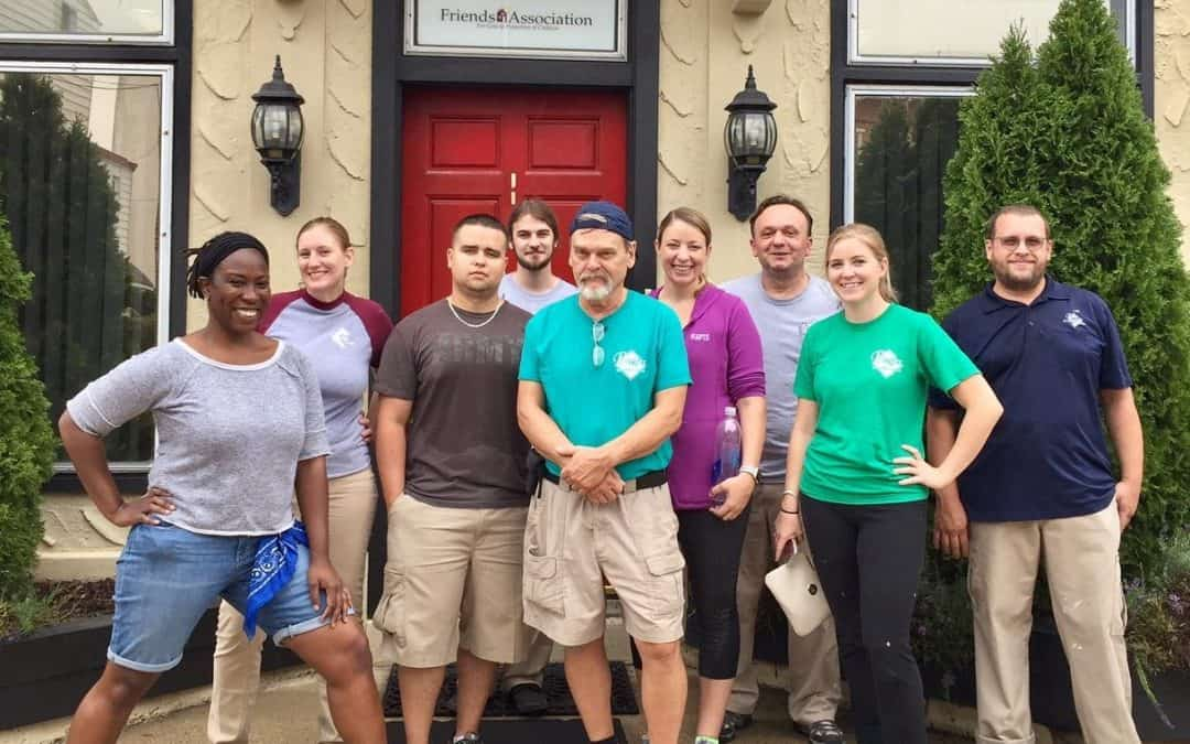 West Chester Region Volunteers at Friends Association