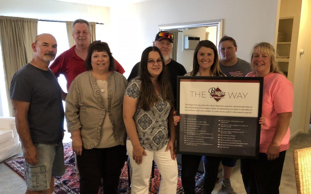 Three New Communities for Berger Rental Communities