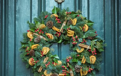 Dec. 5–12 Near Goshen Manor: The West Chester Public Library's Holiday Door Tour
